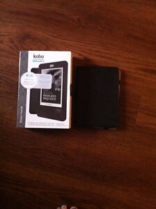 KOBO reader with brand new leather case