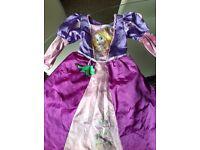 Disney Rapunzel Princess Dress / costume / princess dress 5 - 6 years