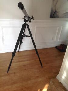 télescope sur pied