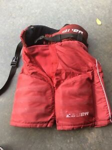 Bauer youth hockey pants size small