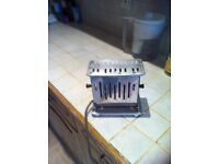 Vintage Premier two sided electric toaster in original box.