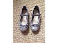 Girls sparkly shoes - size 11