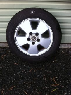 Holden Astra rims and tyres 195/60/15 Kelmscott Armadale Area Preview