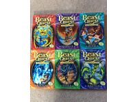 Series of beast quest books series no 25-30
