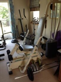Weider stack weight system multi gym good condition