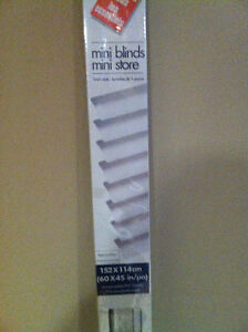 "Mini Blinds (White) ""NEW"" never used"