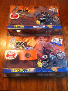 Assorted Road Champs Motor Cross Action figures-new in box