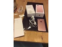 Iphone7 plus 32 gb rose gold