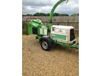 Green mech 150 wood chipper