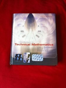 Introduction to Technical Mathematics, text book! Kitchener / Waterloo Kitchener Area image 2