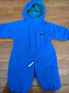 LL BEAN Winter Fleece Snowsuit (Bunting Suit) Kitchener / Waterloo Kitchener Area image 1