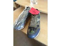 Valentino exclusive camo trainers for sale size 7 £150