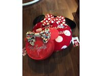 Minnie Mouse girls handbag and pj case
