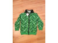 Minecraft Jacket - New With Tags