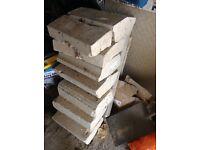 Various bath stone blocks
