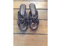 Lunar wedge sandals