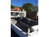 16ft open day boat with cuddy full package two engines, and trailer plus extras