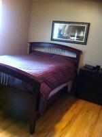High end Queen Mattress/Bed frame