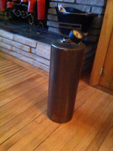 Antique Brass Fire Extinguisher