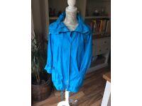 Lightweight blue summer jacket size 14