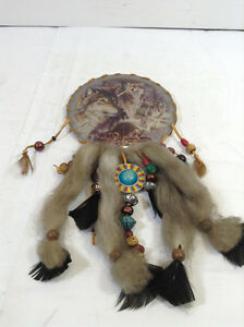 Native collection of dreamcatchers, figurines