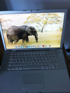 "Macbook Pro 15.4"" Intel Core 2 Duo 2.16 GHz OS X LION 10.7.5"