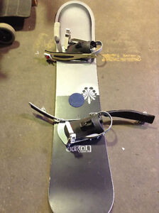 SNOWBOARD Burton Floater58 with bindings $50! SNOWBOARD SALE!!