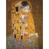 The Kiss, c.1907 Art Print By Gustav Klimt - 24x32