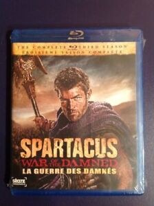 Spartacus war of the damned / 3rd season / Blu-ray new & sealed