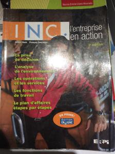 INC, L'entreprise en action, 3e édition, ERPI