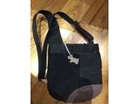 Radley Cross Body Bag Black & Purple
