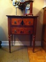 Bombay chest curio file cabinet table for home or office