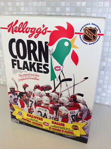 Kellogg's Cereal Box 1993 Montreal Canadiens 100th NHL Anniv