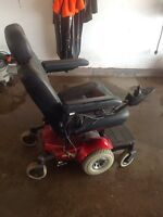 Motorized wheel chair or scooter. New price!