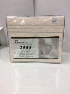 Queen size Bamboo sheet set