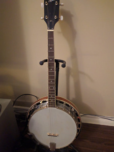Rover 4 string banjo with case for sale