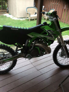 2002 KAWASAKI KX 250 NEW MOTOR AND UPGRADE'S $3000
