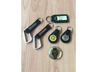 Job lot key rings