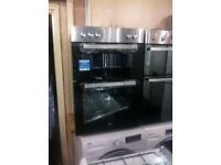 Double oven electric NEW 59.4cm wides Built in stainless steel warranty included SPECIAL OFFERS**