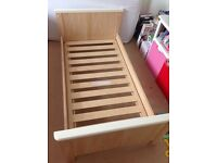 Mamas and papas cot / cot bed