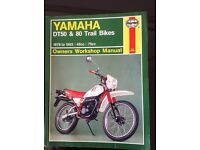 Yamaha DT 50 & 80 Workshop Manual