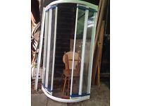 Quadrant shower enclosure 800 x 800 used
