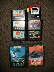 Gently Used Sega Genesis Games (good working condition) trades?