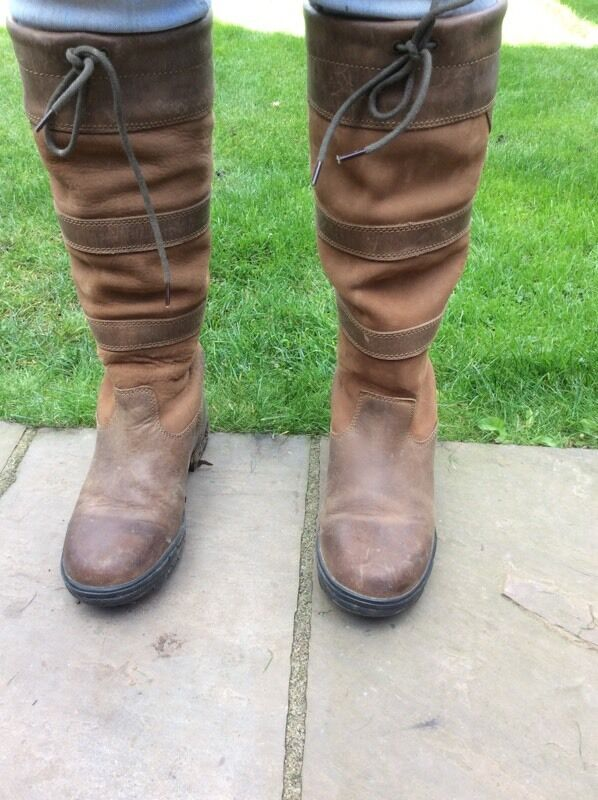 Shires leather boots