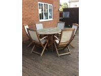 Royalcraft Table and 6 Chairs garden set
