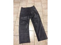 Leather trousers - mens