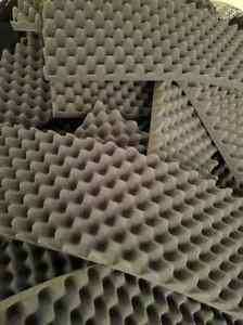 Foam sound insulation