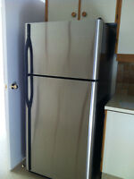 STAINLESS FRIDGE by KENMORE