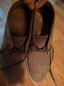 NEW IN BOX - Clark's Brown Suede Leather Boots (Paid $120) London Ontario image 6