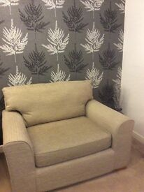 NEXT large snuggle sofa